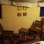 Swiss Cottage Tents Interior